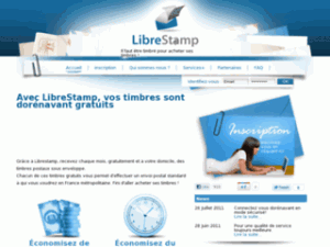 Avec LibreStamp, vos timbres sont dorénavant gratuits